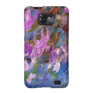Monet Agapanthus Bed Samsung Galaxy SII Case