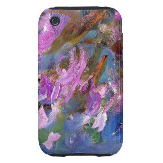 Monet Agapanthus Bed Tough iPhone 3 Case