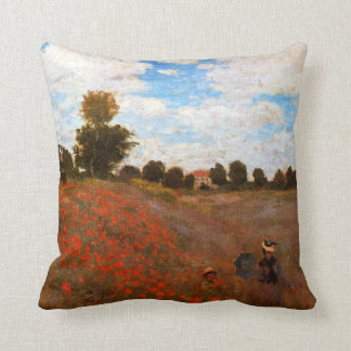 Monet - amapolas salvajes cojín