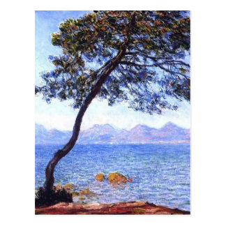 Monet Antibes Post Card