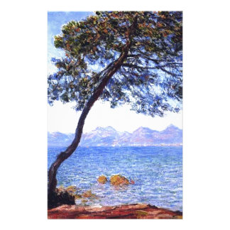 Monet Antibes Personalized Stationery
