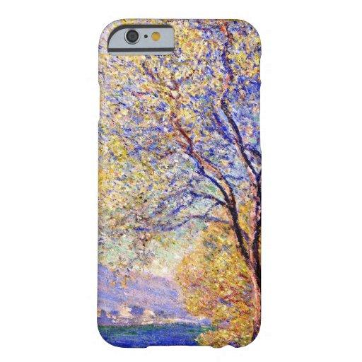 Monet: Antibes vista de los jardines de Salis Funda De iPhone 6 Barely There