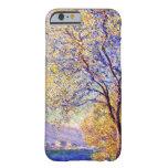 Monet: Antibes vista de los jardines de Salis Funda Para iPhone 6 Barely There