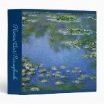 Monet Art Binder