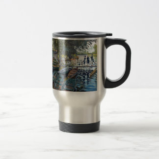 Monet Bathers at La Grenouillère Travel Mug
