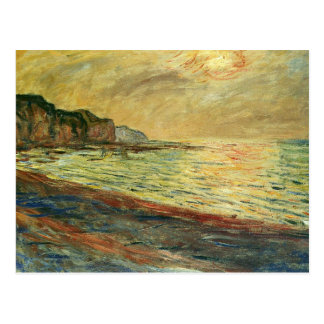 Monet Beach At Pourville Post Cards