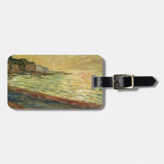 Monet Beach At Pourville Tag For Luggage