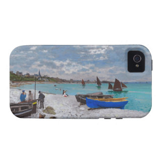 Monet Beach at St Adresse Vibe iPhone 4 Cases