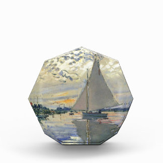 Monet boat water Sailing in Le-Petit-Gennevillie Award