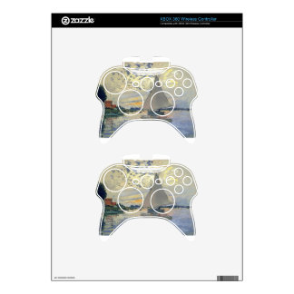 Monet boat water Sailing in Le-Petit-Gennevillie Xbox 360 Controller Decal