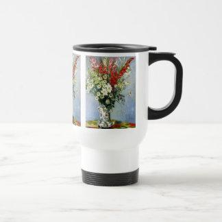 MONET Bouquet of Gladiolas Thermos No Spill Mug