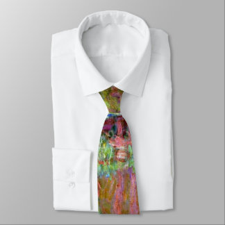 Monet - Bridge in Monet's Garden Tie
