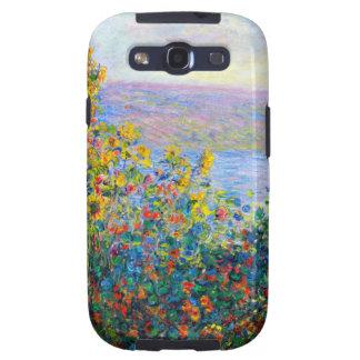 Monet - camas de flor galaxy SIII carcasas