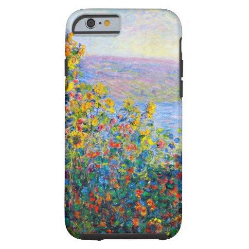 Monet - camas de flor funda de iPhone 6 tough