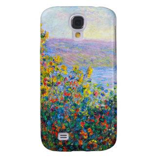 Monet - camas de flor funda para galaxy s4