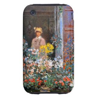 Monet Camilo en la ventana Tough iPhone 3 Protectores