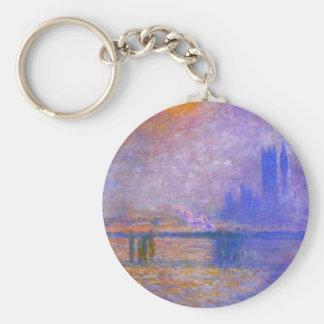 Monet Charing Cross Bridge Key Chain