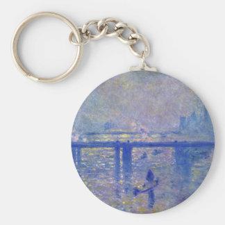 Monet Charing Cross Bridge Keychains