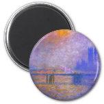 Monet Charing Cross Bridge Magnet