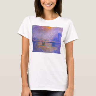 Monet Charing Cross Bridge T-shirt