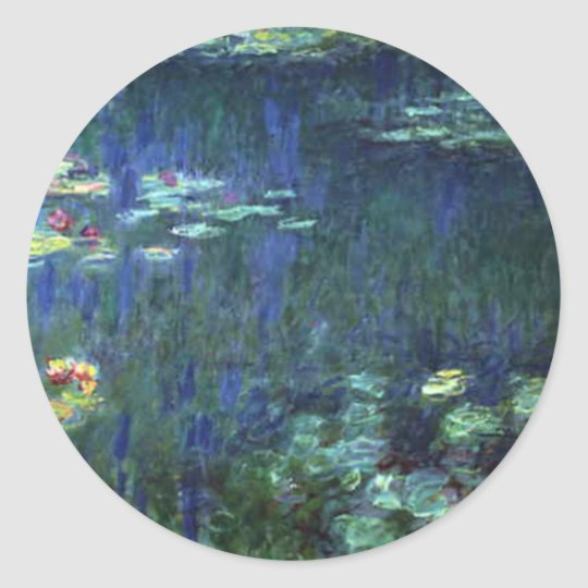 Monet Classic Round Sticker