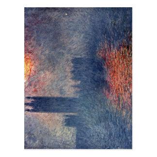 Monet, Claude Das Parlament en Londres Techniq 190 Tarjetas Postales