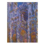 Monet, Claude Kathedrale von Ruán (bei del portal  Postal