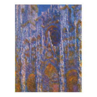 Monet Claude Kathedrale von Ruán bei del portal Postal