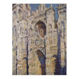 Monet, Claude Kathedrale von Ruán (und del portal  Postales