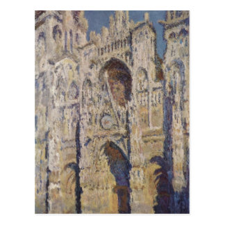 Monet Claude Kathedrale von Ruán und del portal Tarjetas Postales