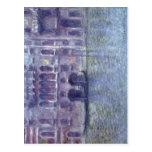 Monet, Claude Palazzo DA Mula, Venedig Techni 1908 Postal