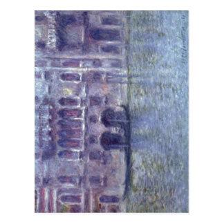 Monet, Claude Palazzo DA Mula, Venedig Techni 1908 Tarjetas Postales