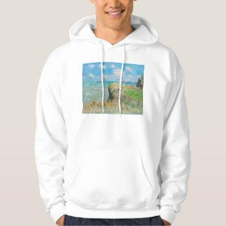 Monet Cliff Walk at Pourville Hoodie