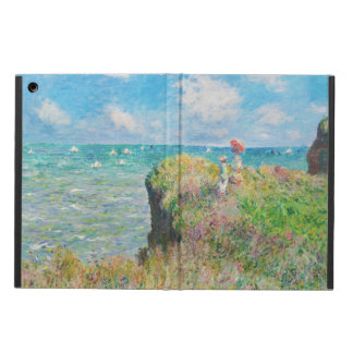 Monet Cliff Walk at Pourville iPad Air Cover