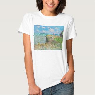 Monet Cliff Walk at Pourville T-shirt