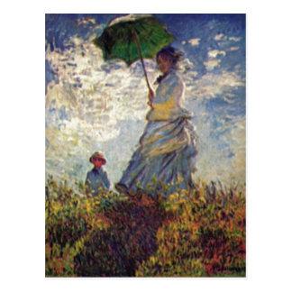 Monet, dem del auf de Sohn Jean del und de Claude  Postal