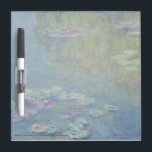 "Monet - Dry Erase Board<br><div class=""desc"">&quot;Waterlilies, &quot; Claude Monet,  1908,  oil on canvas,  94.7 x 89.9 cm,  Museum Purchase,  1910.26.</div>"