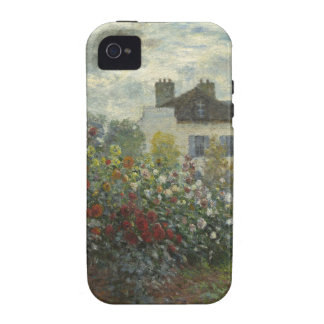 Monet el jardín del artista en Argenteuil iPhone 4/4S Carcasas
