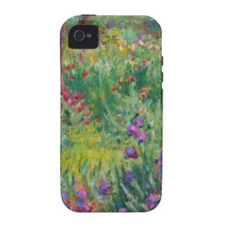 Monet - el jardín del artista en Giverny Case-Mate iPhone 4 Carcasa