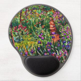 Monet - el jardín del iris en Giverny Alfombrillas De Raton Con Gel