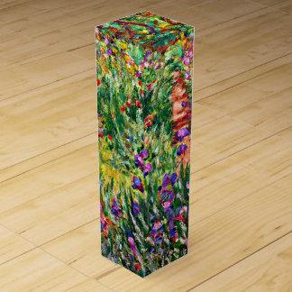 Monet - el jardín del iris en Giverny Caja Para Bino