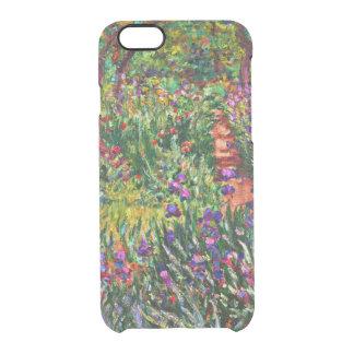Monet - el jardín del iris en Giverny Funda Clearly™ Deflector Para iPhone 6 De Uncommon