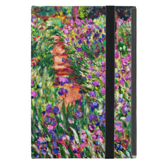 Monet - el jardín del iris en Giverny iPad Mini Carcasas