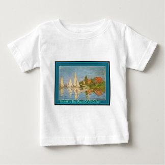 Monet es la raíz de toda la buena camiseta de los playeras