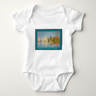 Monet es la raíz de todo el buen bebé crece la playeras