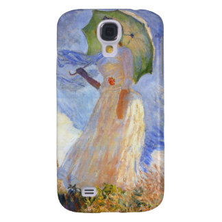 Monet Figure Facing Left Samsung Galaxy S4 Cover