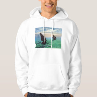 Monet Fishing Boats at Sea Hoodie