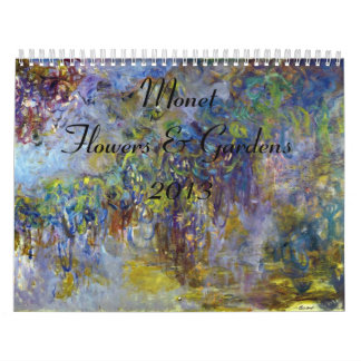 Monet Flower and Gardens 2013 Calendar