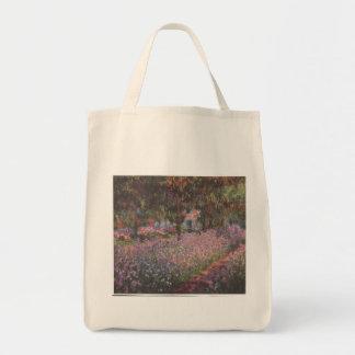 Monet flowers Artist Garden Giverny vines art Tote Bag
