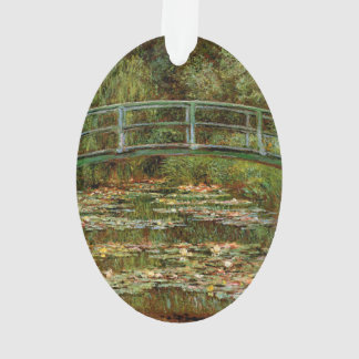 Monet French Japanese Bridge Impressionist Ornament